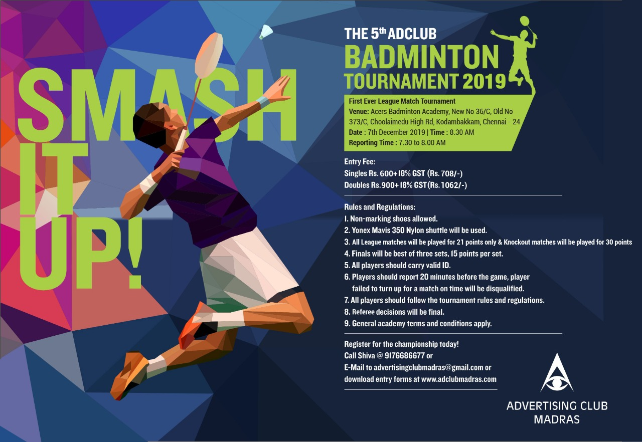 The 5th Adclub Badminton Tournament 2019