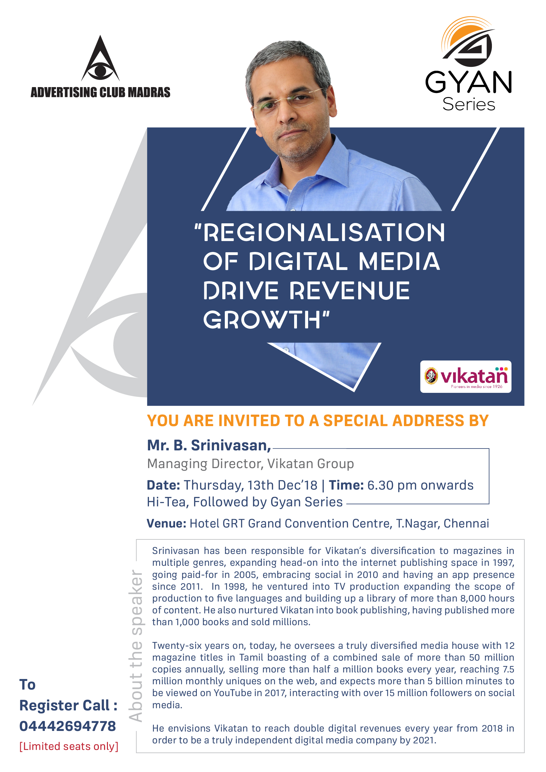 REGIONALISATION OF DIGITAL MEDIA DRIVE REVENUE GROWTH