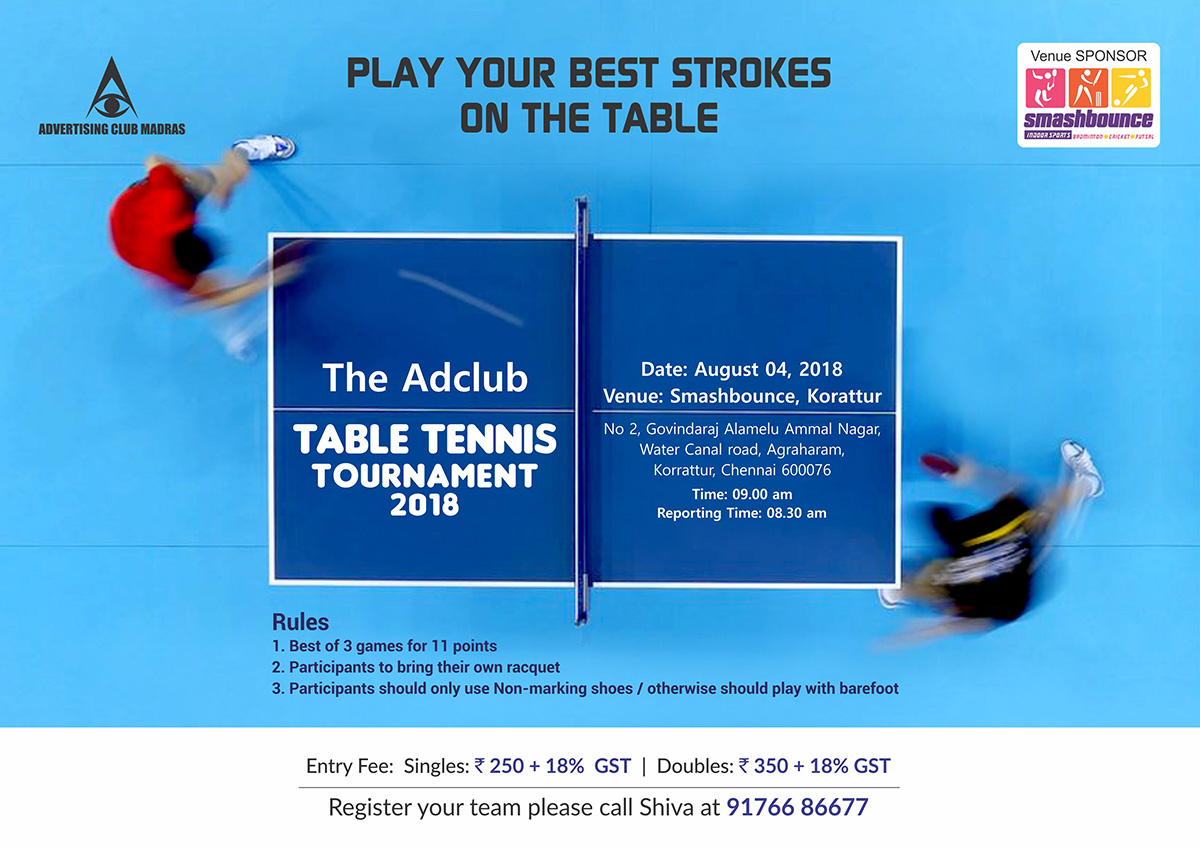 Table Tennis Tournament 2018