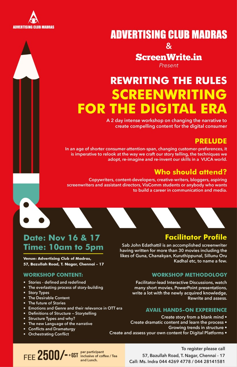 Rewriting The Rules - Screenwriting For The  Digital Era