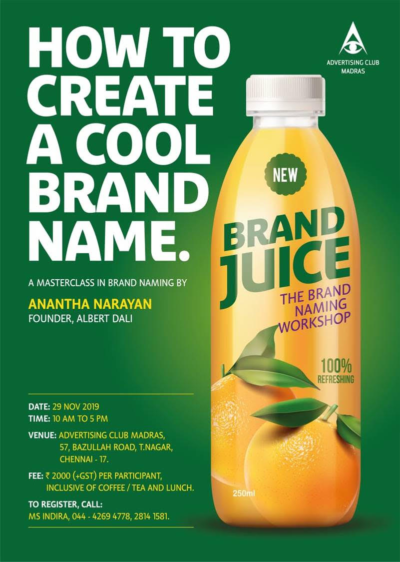 Workshop On How To Create A Cool Brand Name