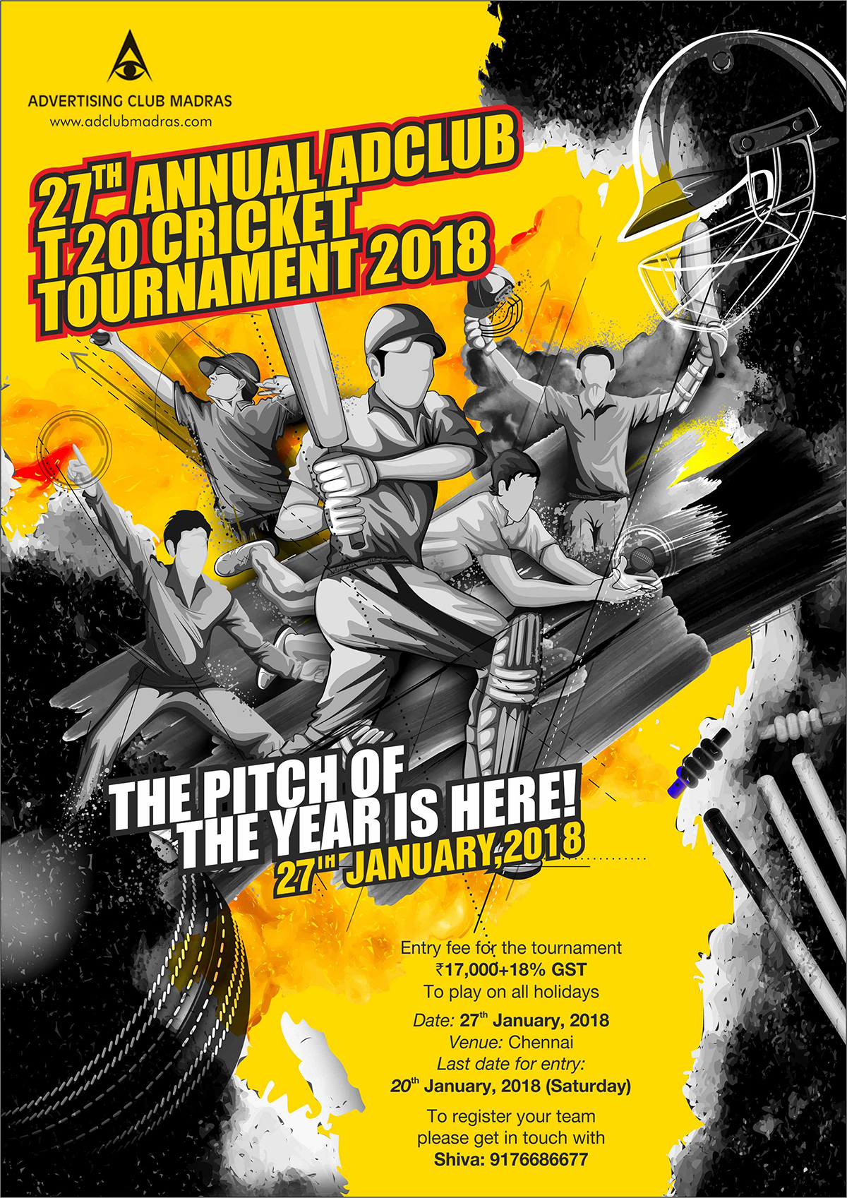 27th Annual Adclub T20 Cricket Tournament 2018