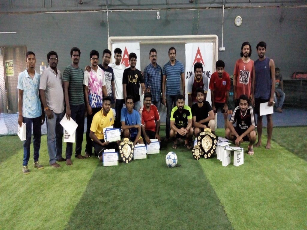 The 5th Adclub Football Tournament
